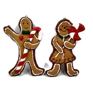 Ginger bread Paper Clay Ornaments